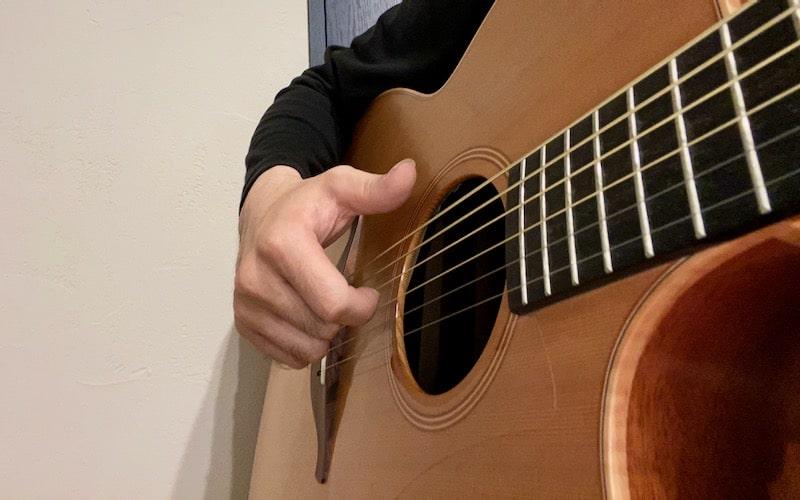 ギタースラップのやり方【プル】
